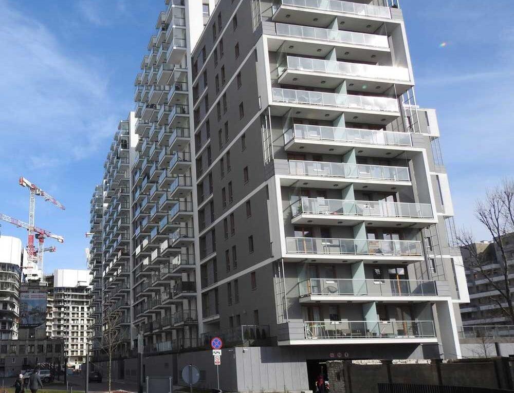 osiedle mieszkaniowe na Warszawskiej Woli przy ulicy Kasprzaka